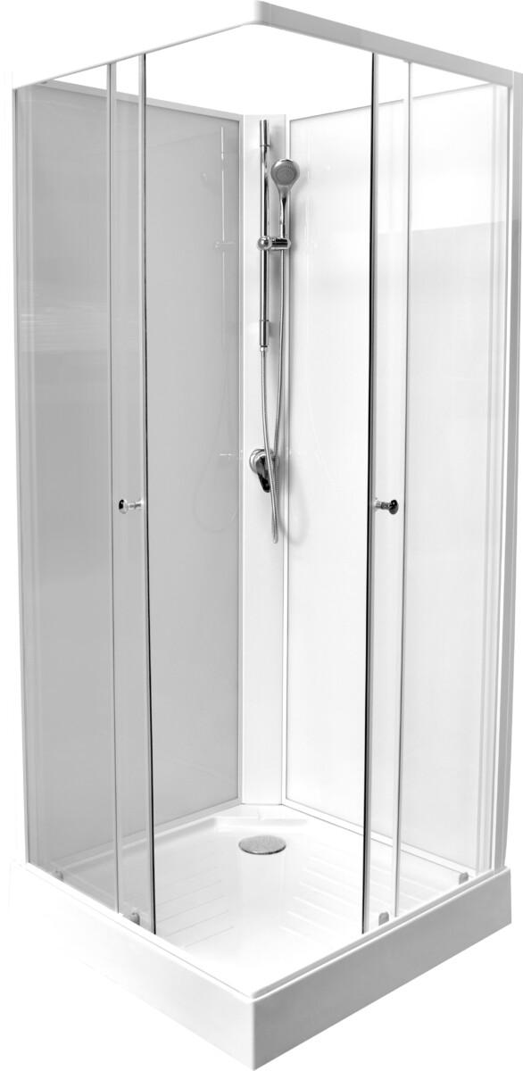 Douchecabine 80x80 Prijzen.Budgetprijs Adria 219 Complete Douchecabine 80x80