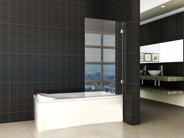 Profielloze badwand die naar binnen en naar buiten draait