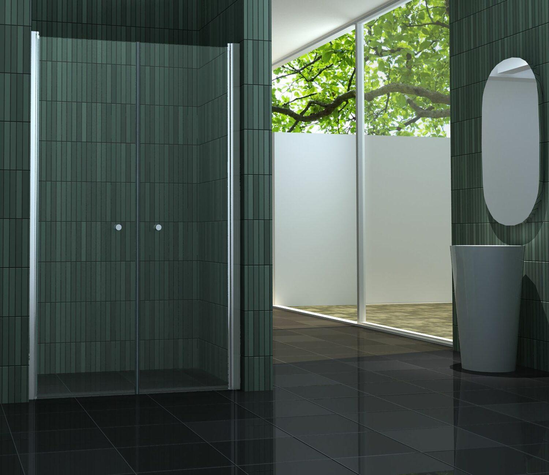 douchedeur met een beperkte hoogte 180 cm