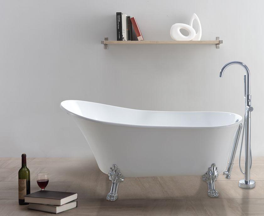 Klassiek vrijstaand bad