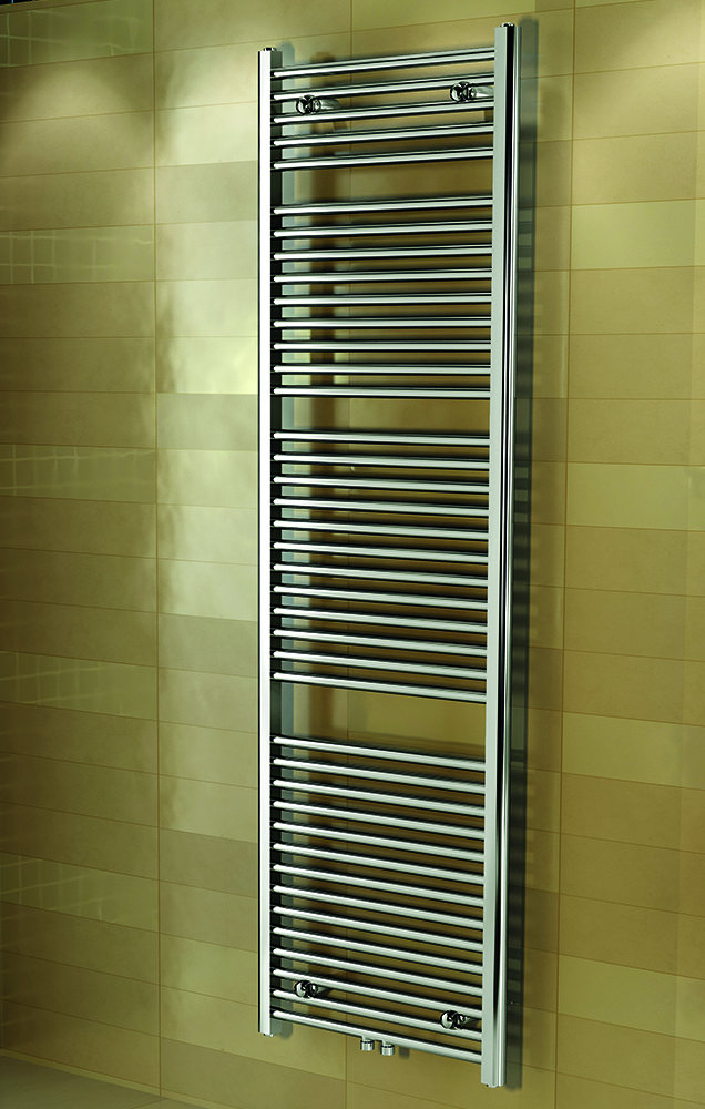 badkamer radiator chrome