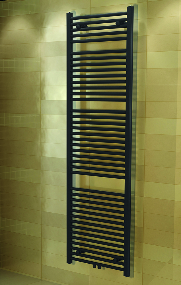 Grijze design radiator