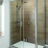 Schuifdeur voor een douchecabine