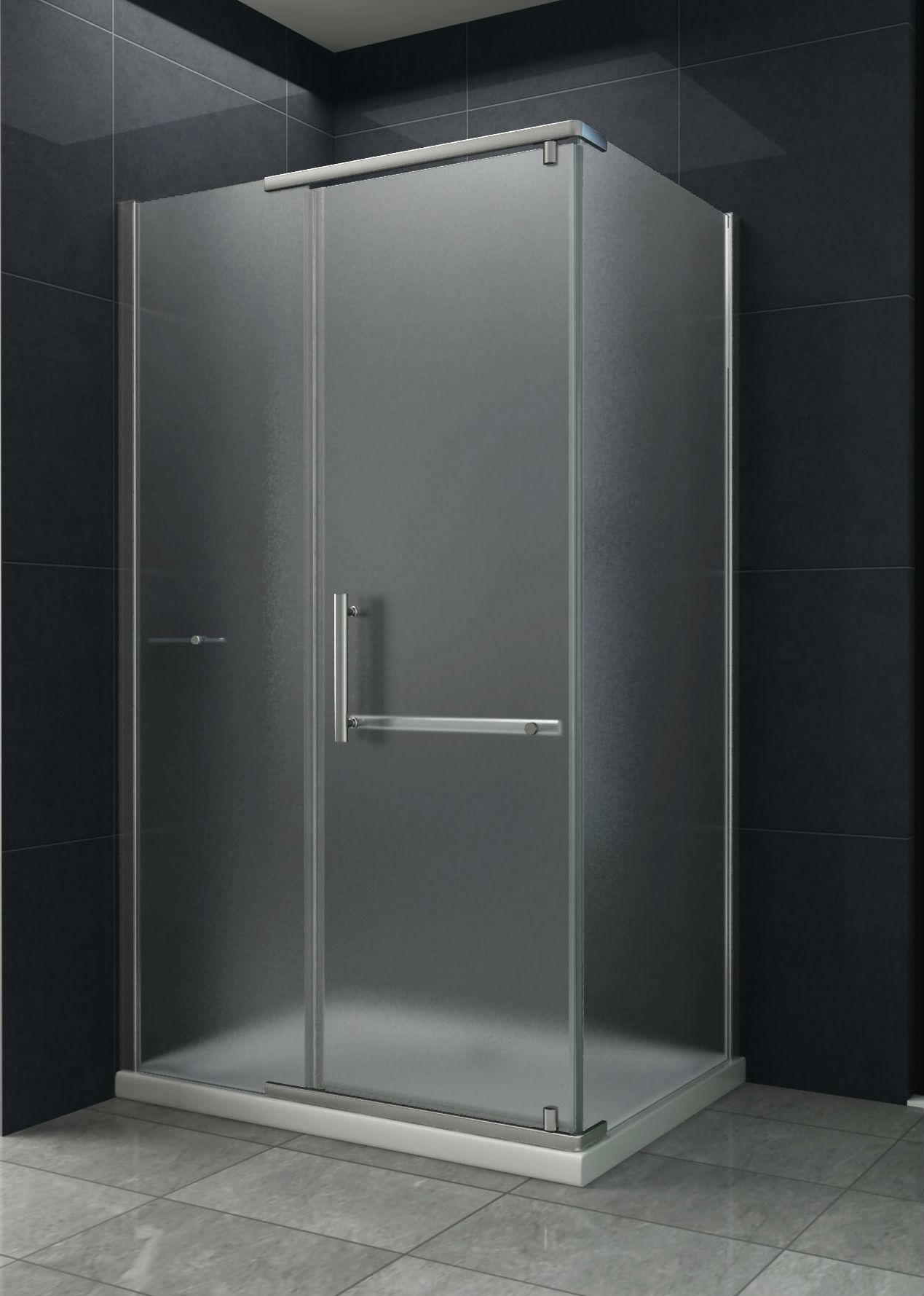 Hedendaags Douche Design matglas douchecabine met draaideur kopen WP-56