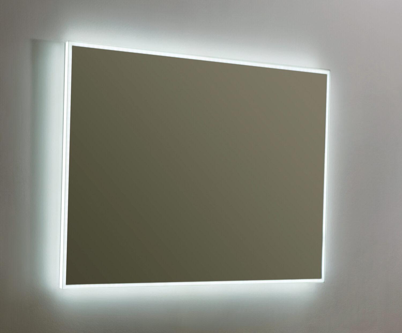 Badkamer spiegel met romdom LED verlichting