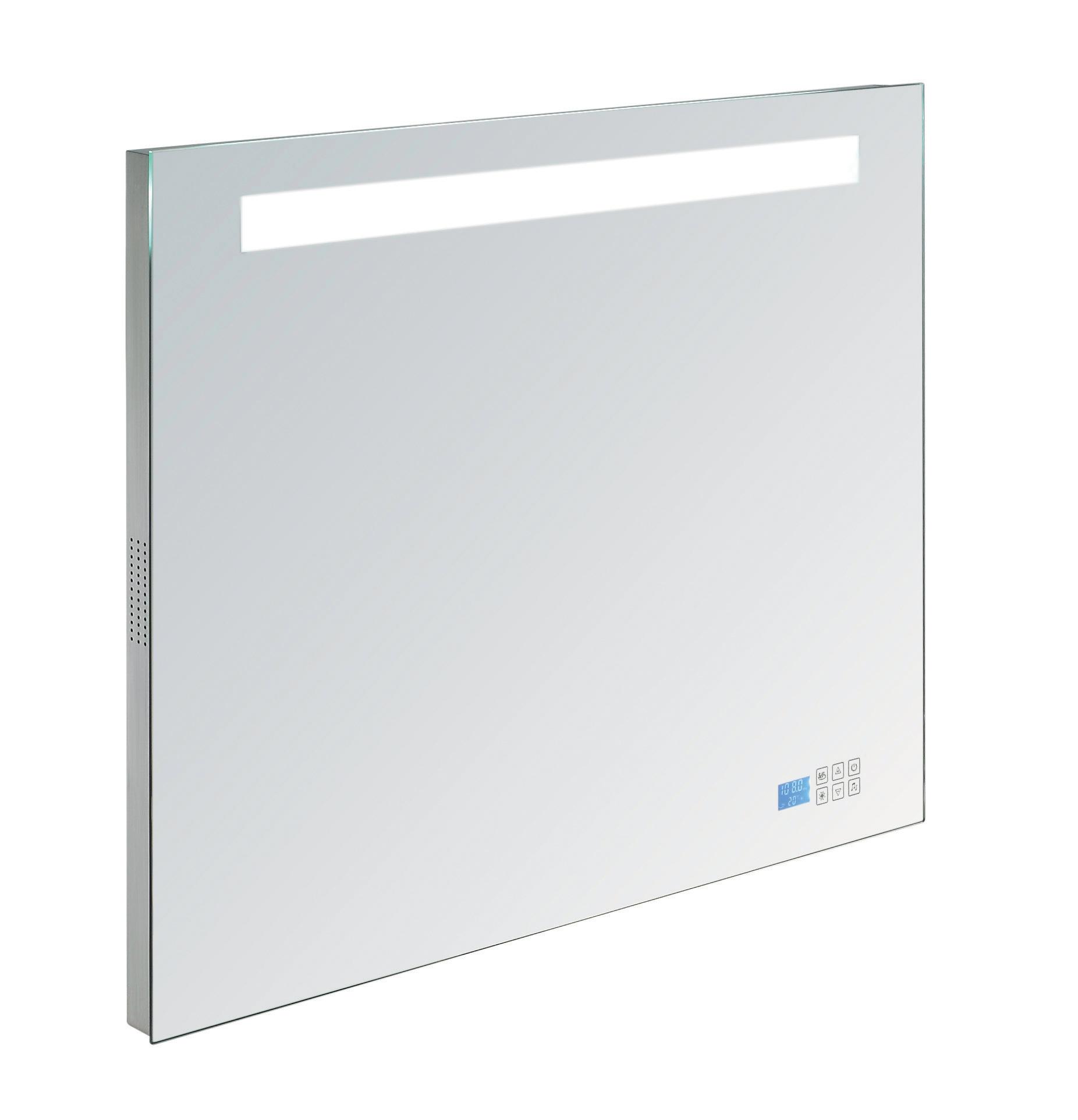 Verrassend Badkamer spiegel met Bluetooth, verlichting en radio kopen IK-45