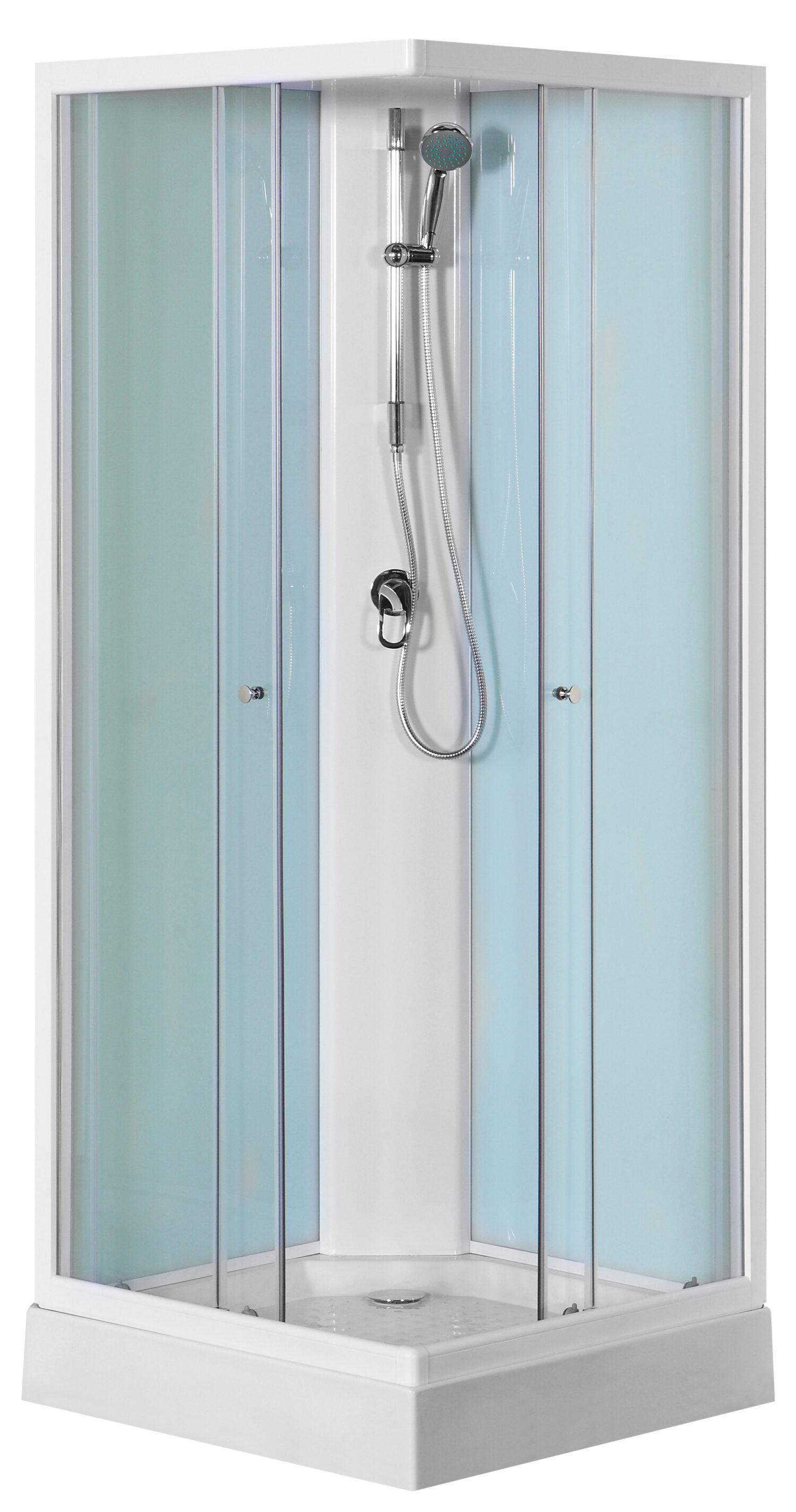 Turino 217rondom gesloten douchecabine met een ééngreepsmengkraan