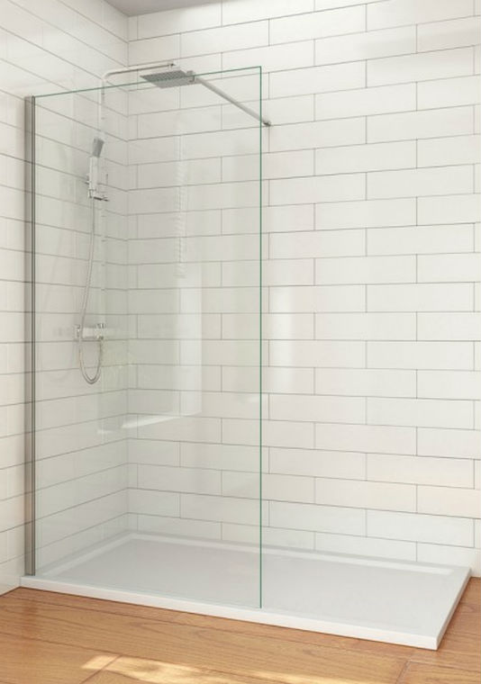 Wetroom glaswand
