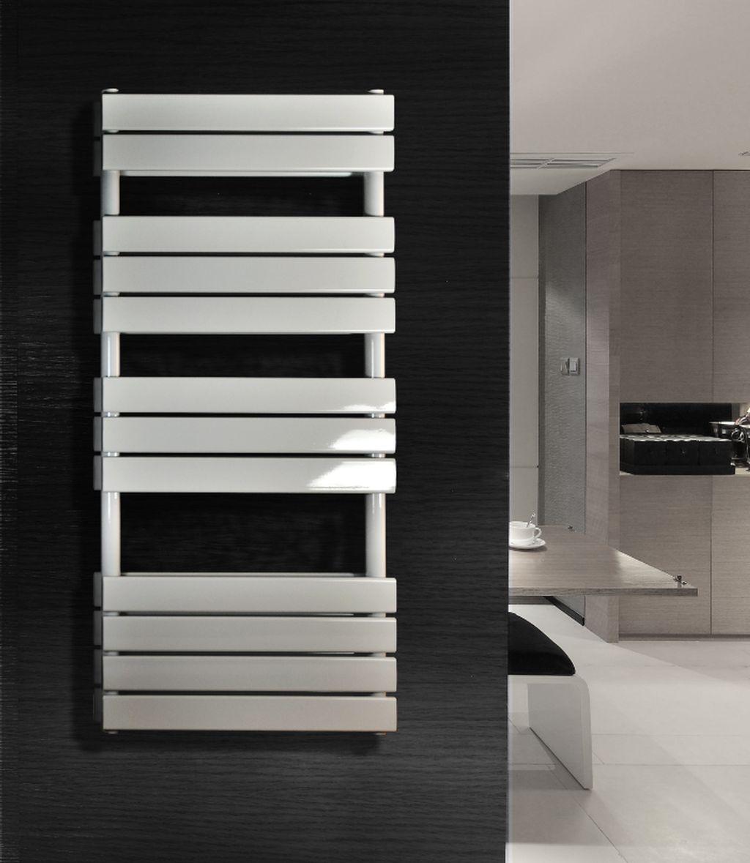 Witte badkamer designradiator
